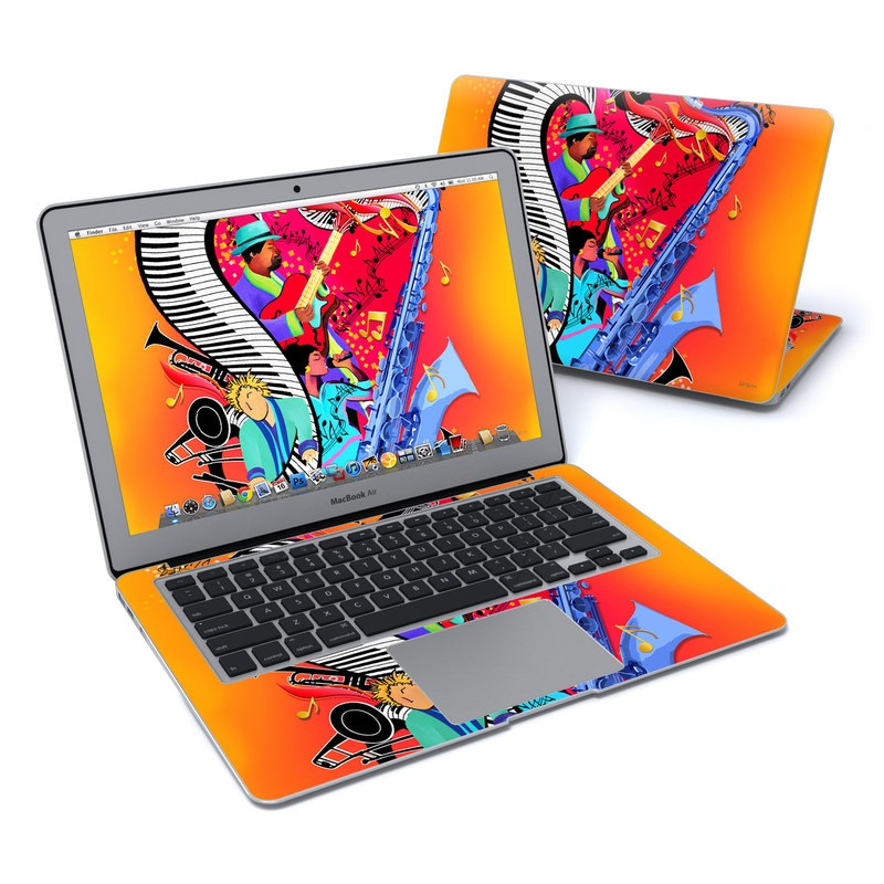 Red Hot Jazz MacBook Air 13-inch Skin