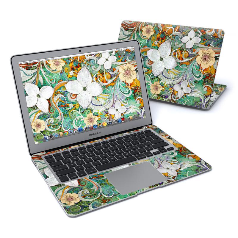 Sangria Flora MacBook Air 13-inch Skin