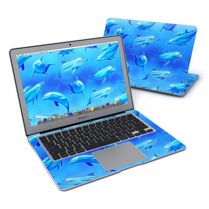 Swimming Dolphins MacBook Air 13-inch Skin