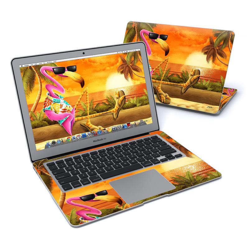 Sunset Flamingo MacBook Air 13-inch Skin