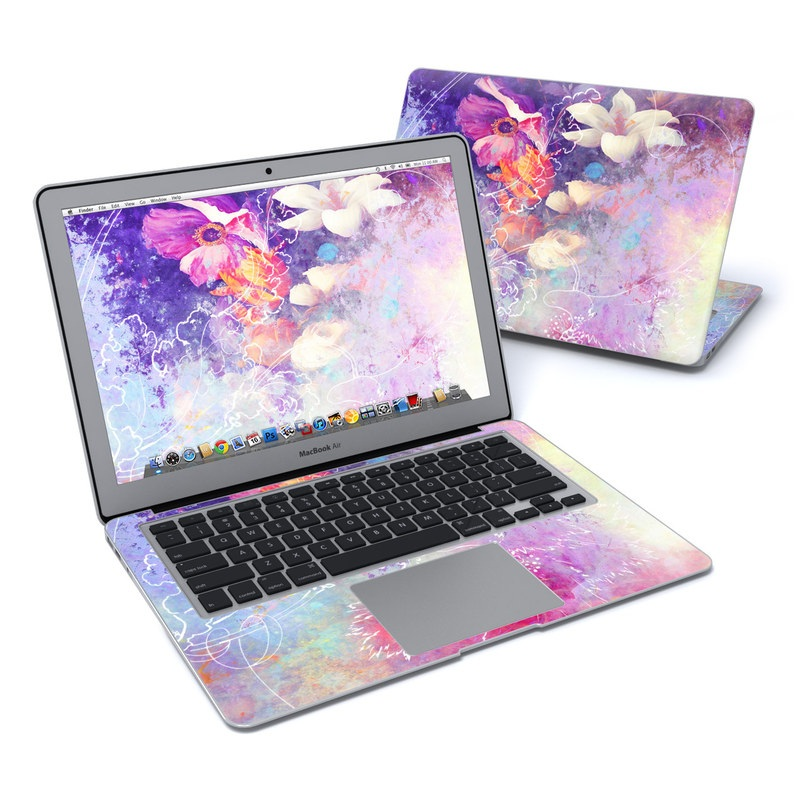 Sketch Flowers Lily MacBook Air 13-inch Skin
