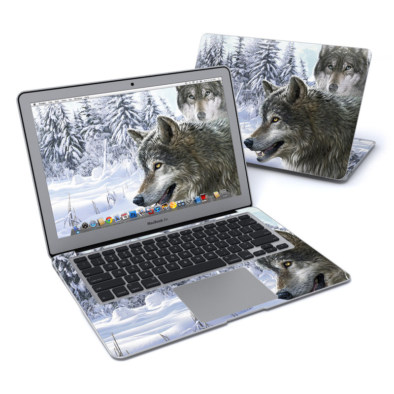 Snow Wolves MacBook Air 13-inch Skin