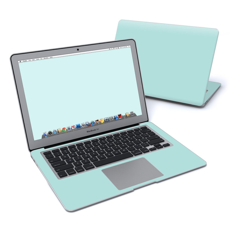 Solid State Mint MacBook Air Pre 2018 13-inch Skin