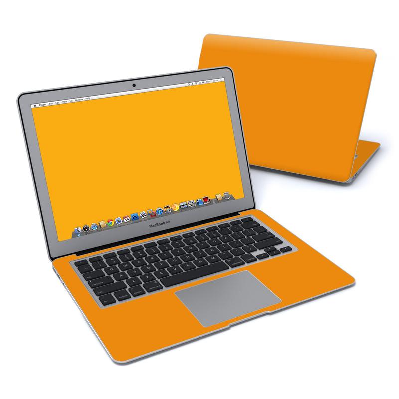 Solid State Orange MacBook Air 13-inch Skin