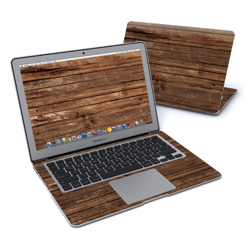 Stripped Wood MacBook Air 13-inch Skin