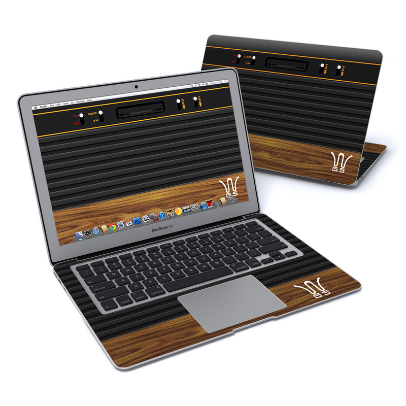 Wooden Gaming System MacBook Air Pre 2018 13-inch Skin