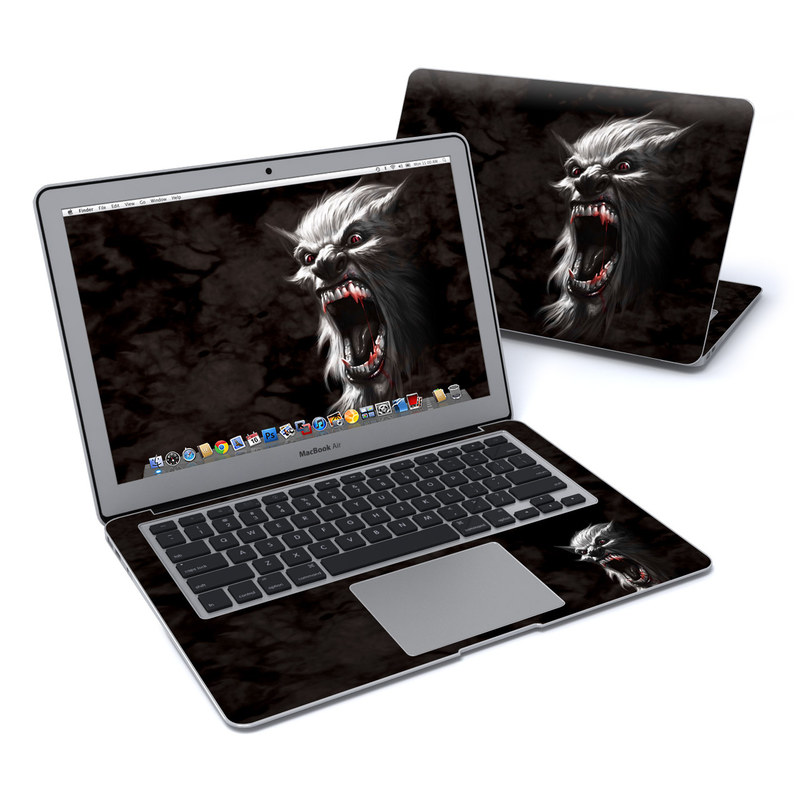 Wolfman MacBook Air 13-inch Skin