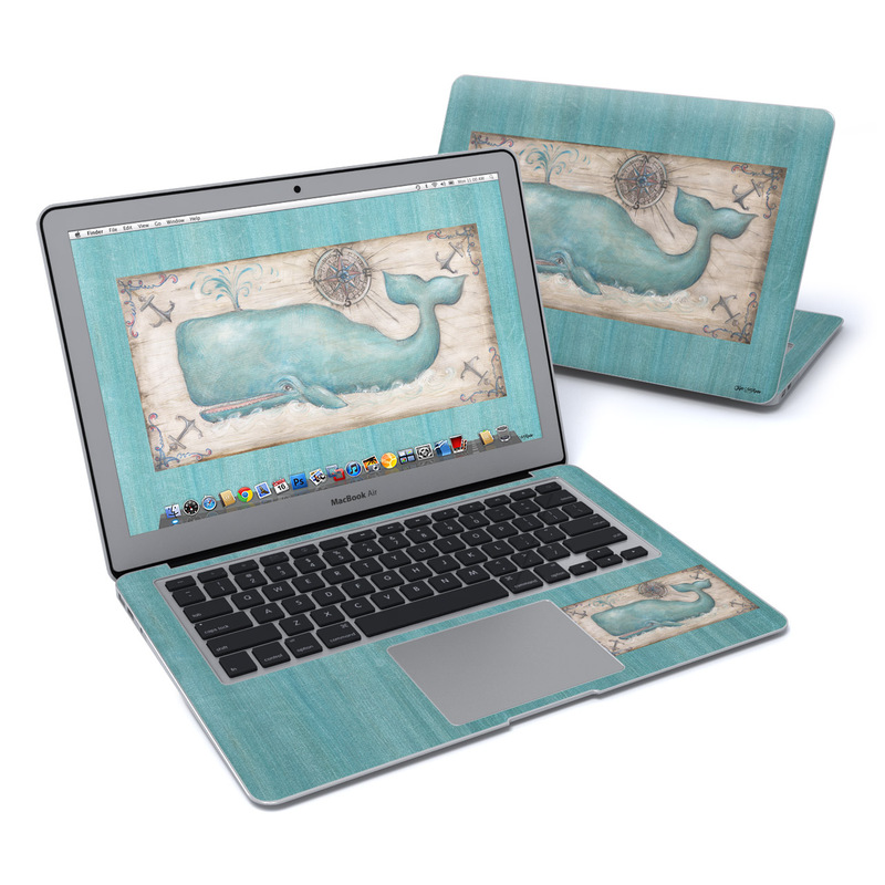 Whale Watch MacBook Air 13-inch Skin