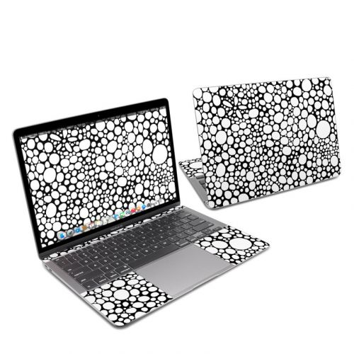 BW Bubbles MacBook Air 13-inch Skin