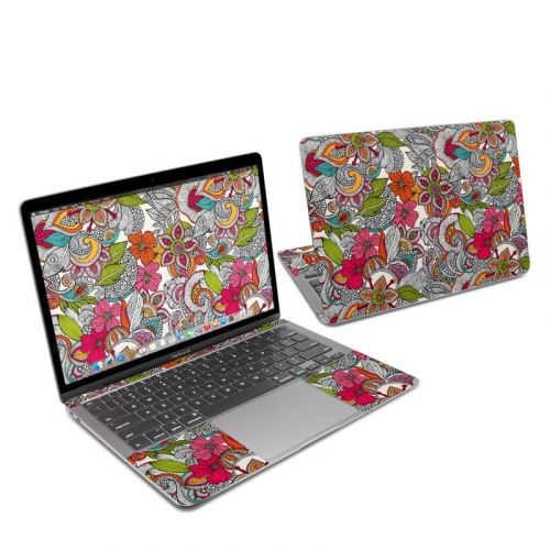 Doodles Color MacBook Air 13-inch Skin