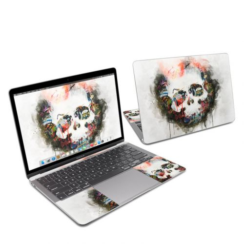 Skull Splat MacBook Air 13-inch Skin