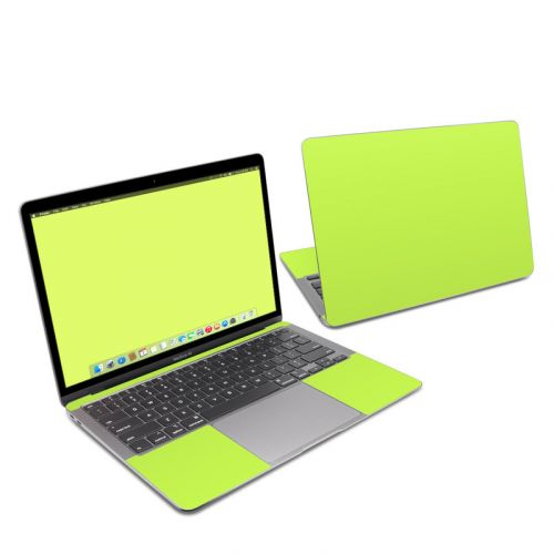 Solid State Lime MacBook Air 13-inch Skin