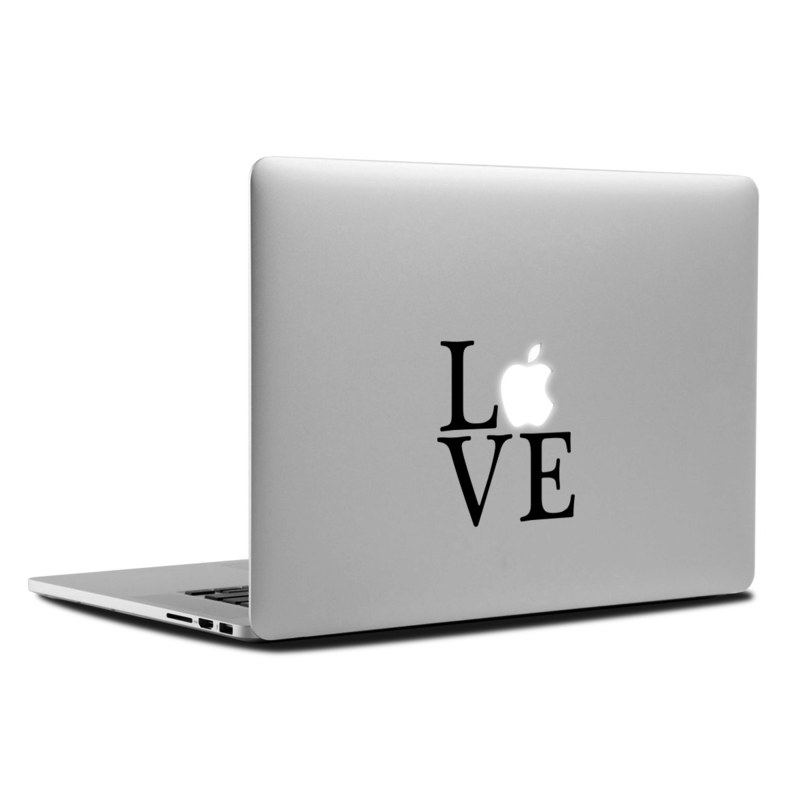 Love Letters MacBook Backlit Logo Skin