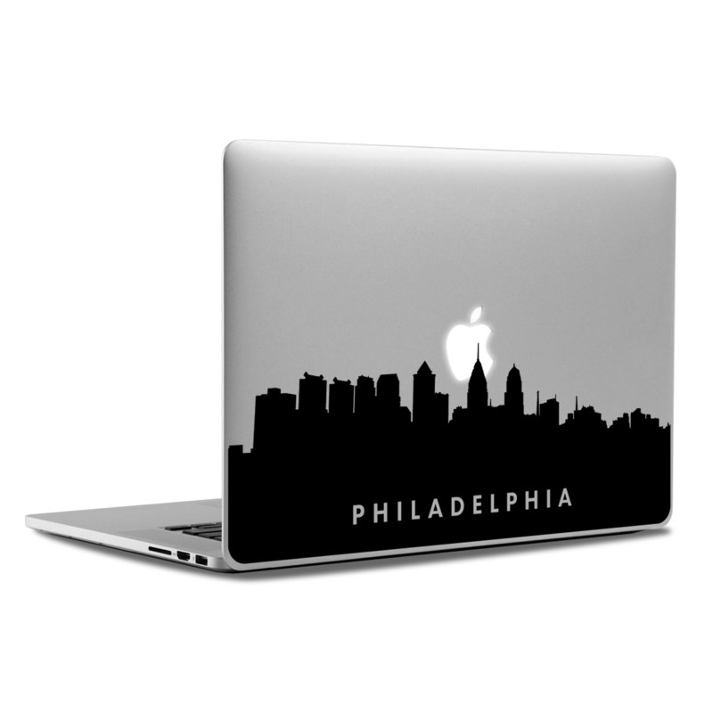 Philadelphia Skyline Laptop Sticker