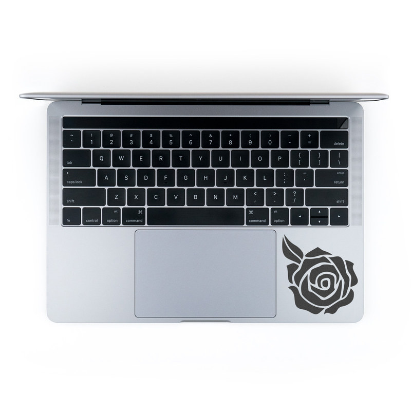 Laptop Sticker design with black colors