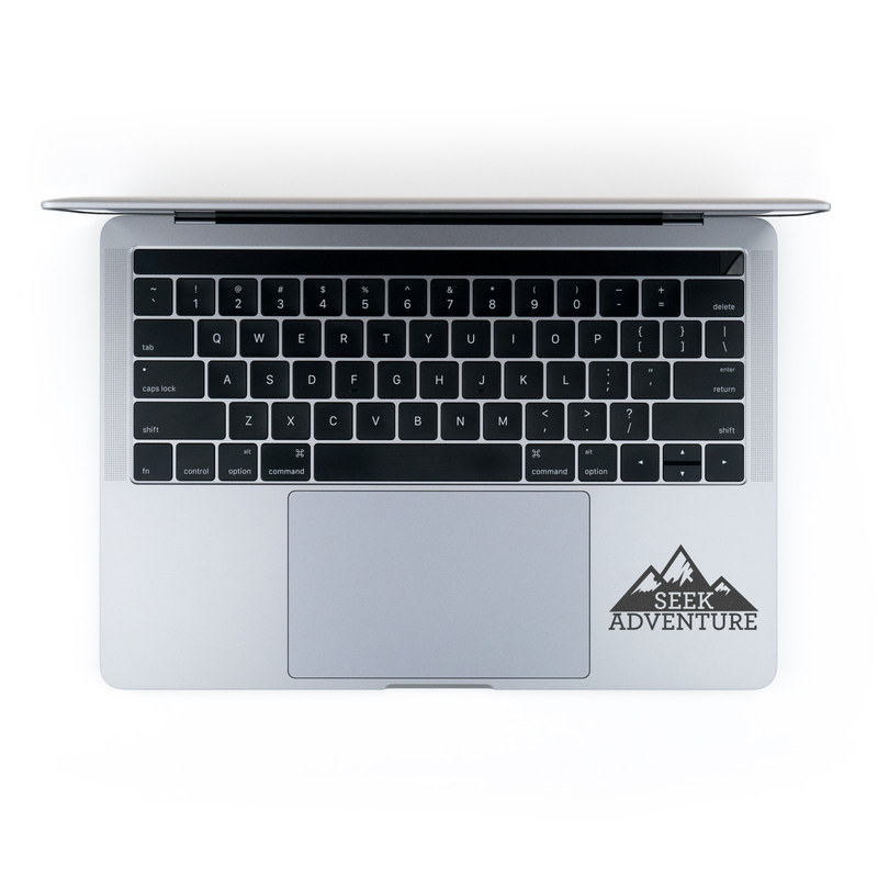 Seek Adventure Laptop Sticker