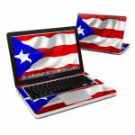 Puerto Rican Flag MacBook Pro 13-inch Skin