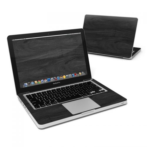 Black Woodgrain MacBook Pro Pre 2012 13-inch Skin