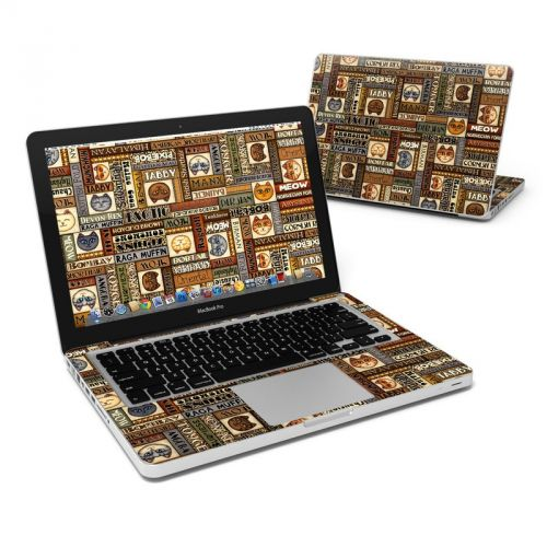 Cat Breeds MacBook Pro 13-inch Skin
