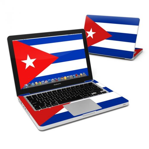 Cuban Flag MacBook Pro 13-inch Skin