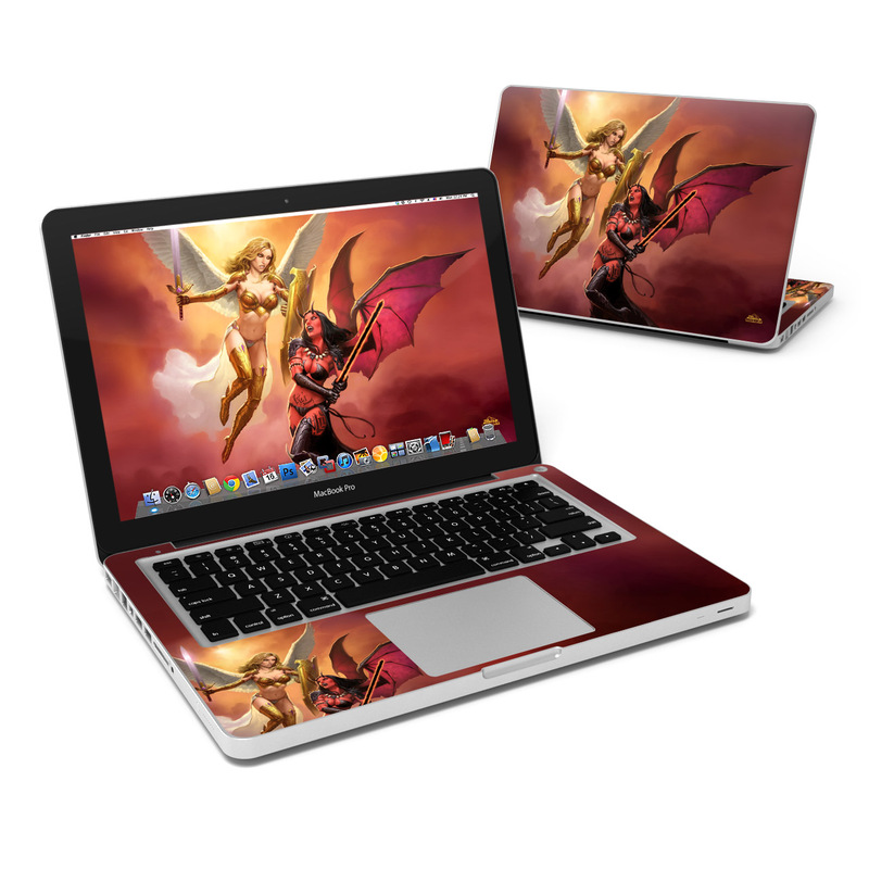 Angel vs Demon MacBook Pro 13-inch Skin