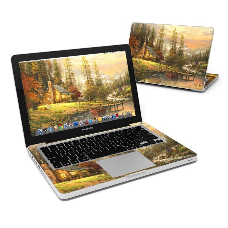 A Peaceful Retreat MacBook Pro 13-inch Skin