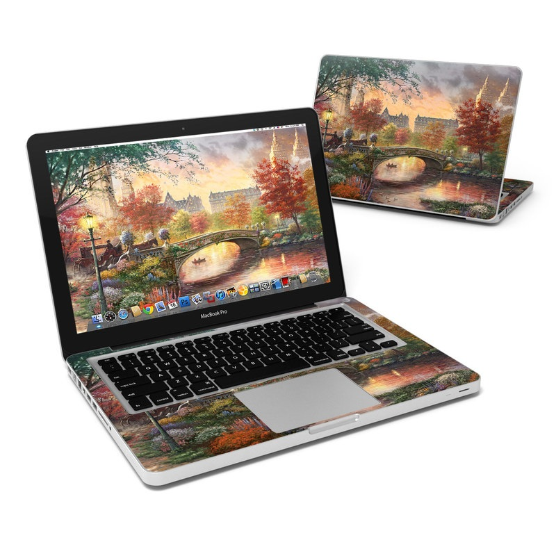 Autumn in New York MacBook Pro 13-inch Skin