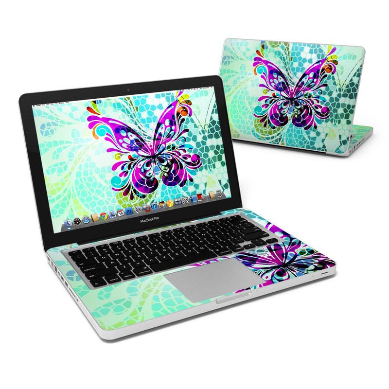 Butterfly Glass MacBook Pro 13-inch Skin
