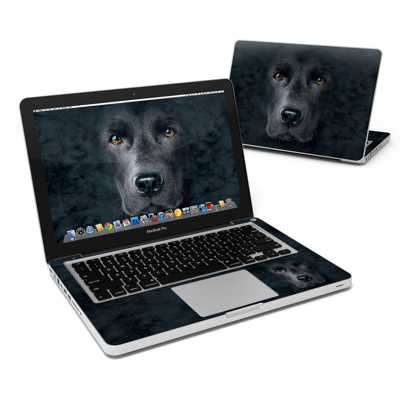 Black Lab MacBook Pro 13-inch Skin
