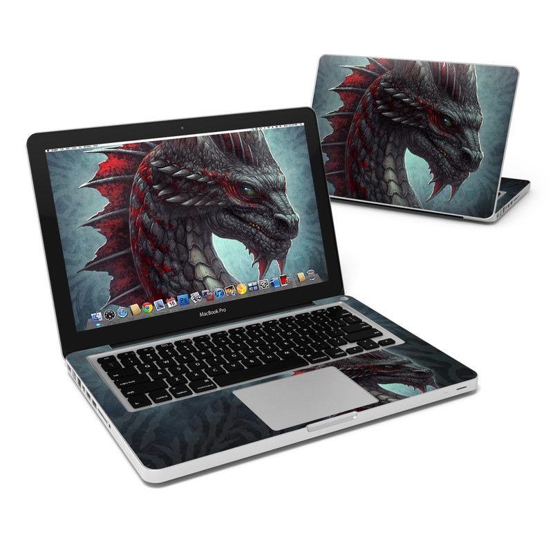 Black Dragon MacBook Pro 13-inch Skin
