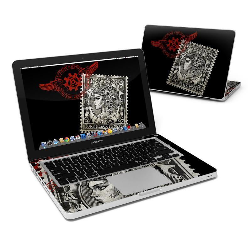 Black Penny MacBook Pro 13-inch Skin