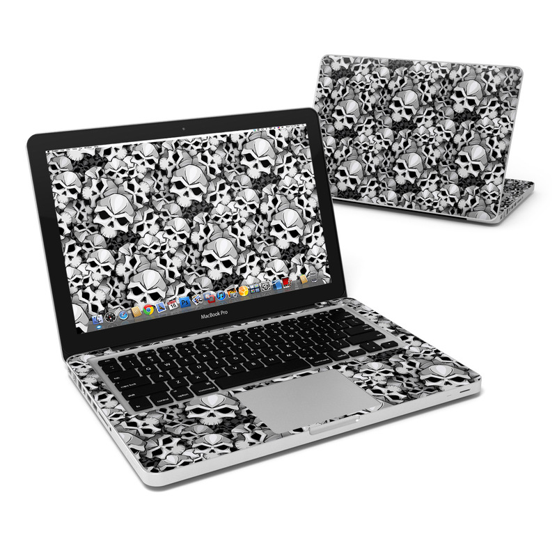 Bones MacBook Pro 13-inch Skin
