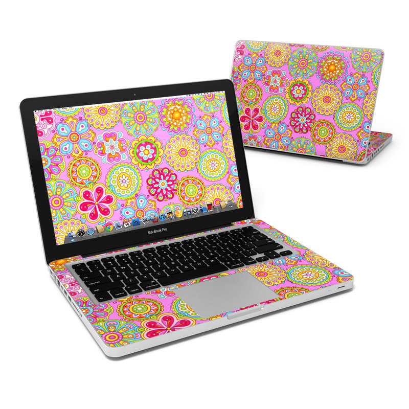 Bright Flowers MacBook Pro 13-inch Skin
