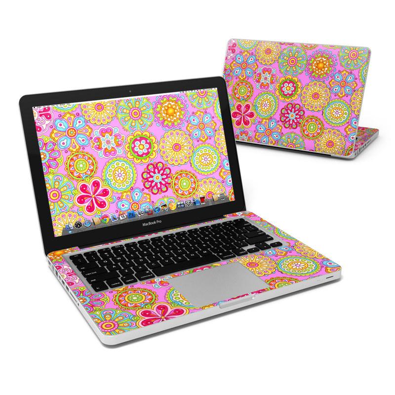 Bright Flowers MacBook Pro 13-inch Skin