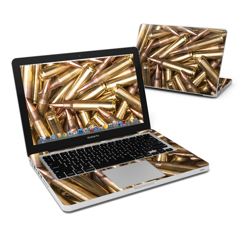 Bullets MacBook Pro 13-inch Skin
