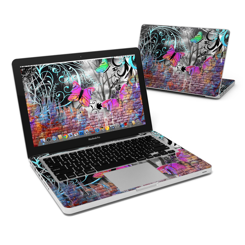 Butterfly Wall MacBook Pro Pre 2012 13-inch Skin