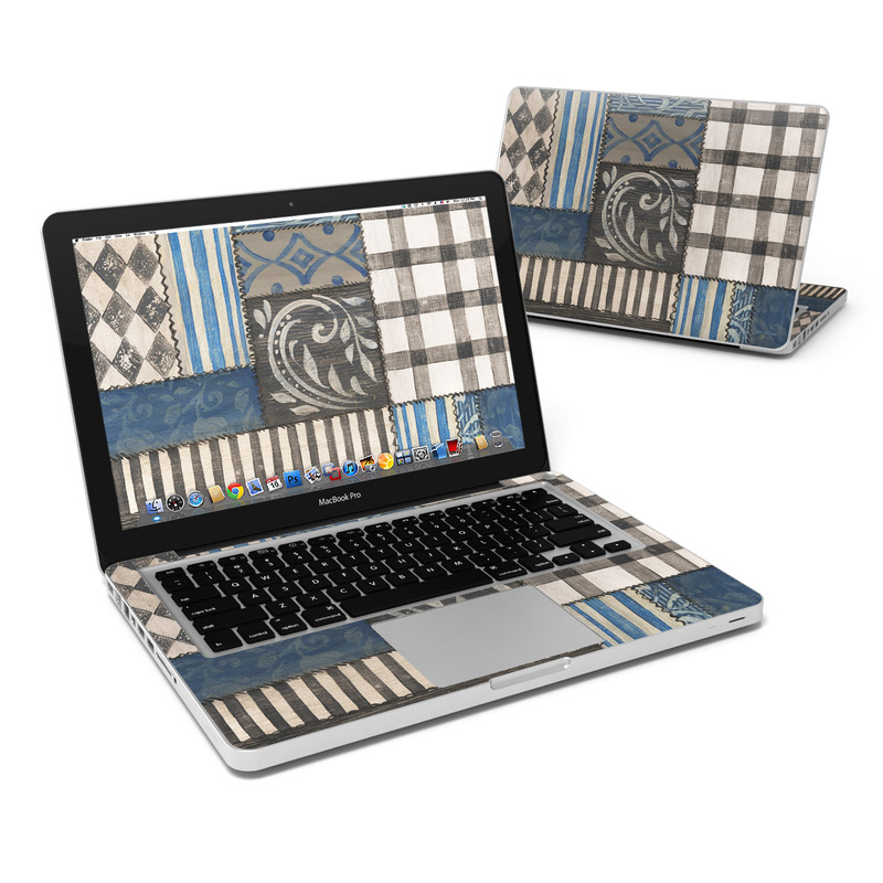 Country Chic Blue MacBook Pro 13-inch Skin