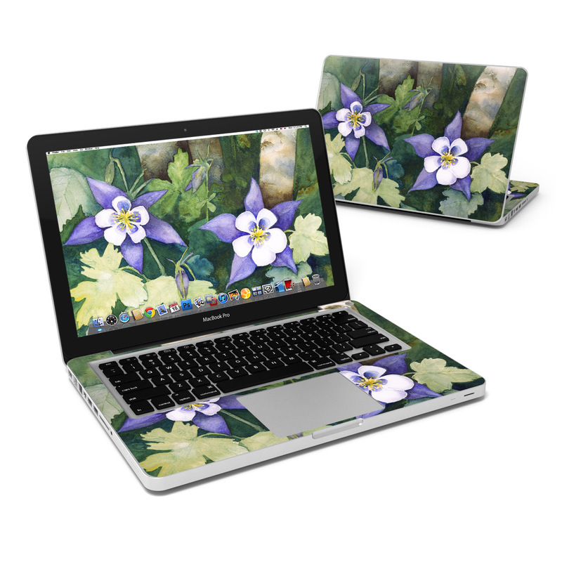 Colorado Columbines MacBook Pro Pre 2012 13-inch Skin