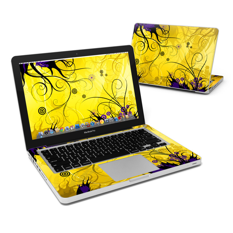 Chaotic Land MacBook Pro 13-inch Skin