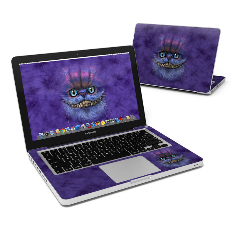 Cheshire Grin MacBook Pro 13-inch Skin