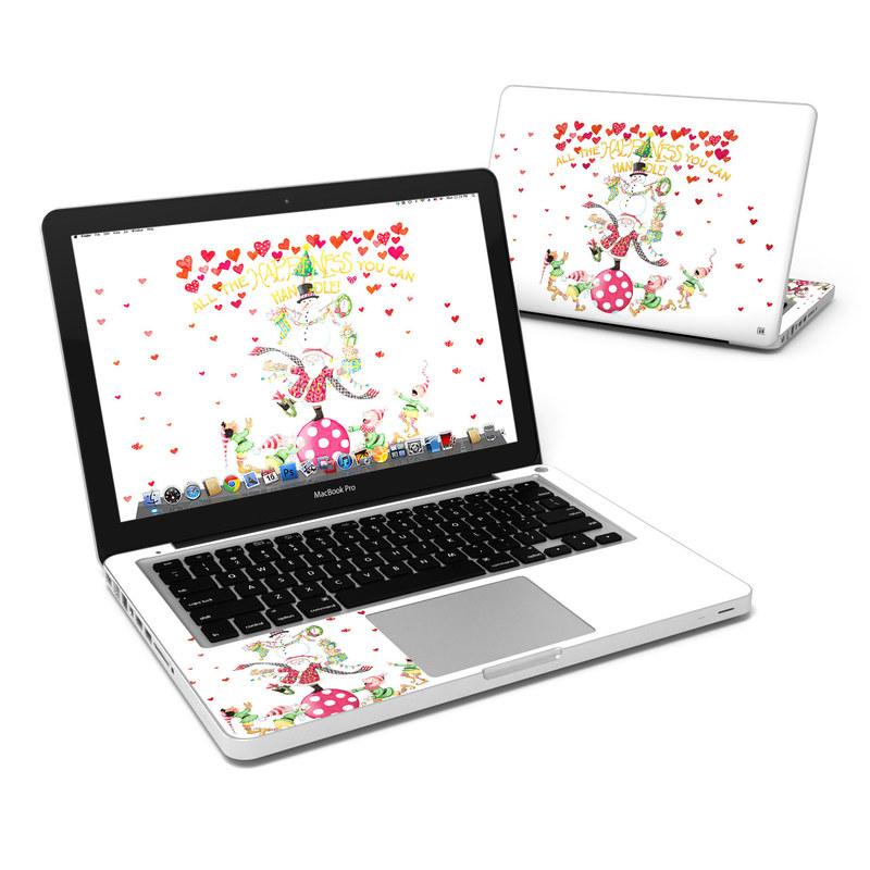 Christmas Circus MacBook Pro 13-inch Skin