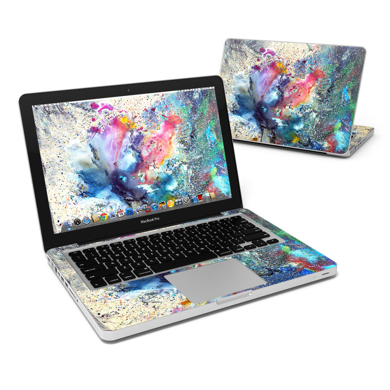 Cosmic Flower MacBook Pro 13-inch Skin