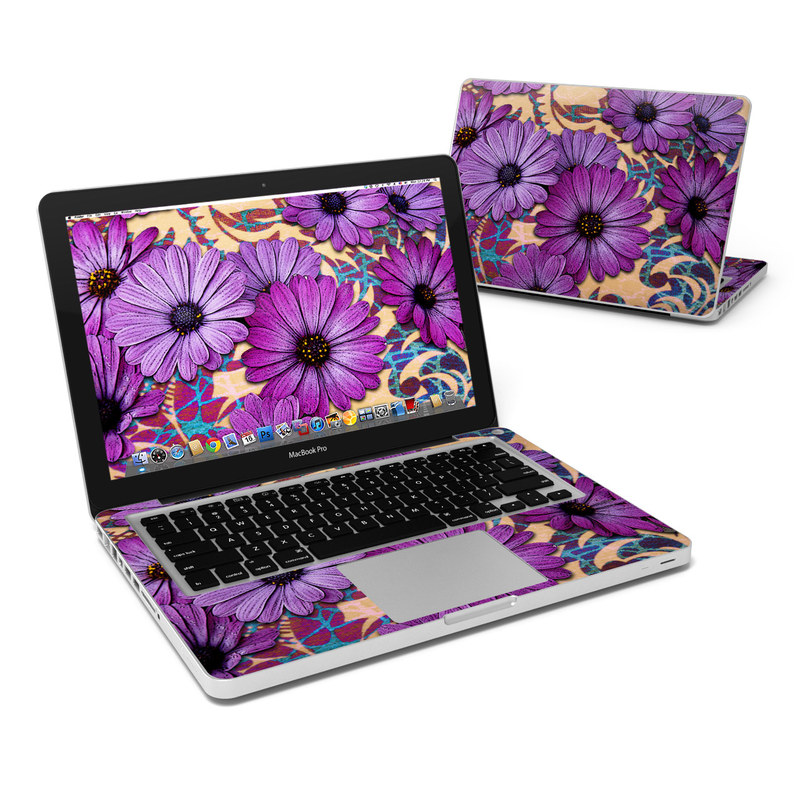 Daisy Damask MacBook Pro 13-inch Skin