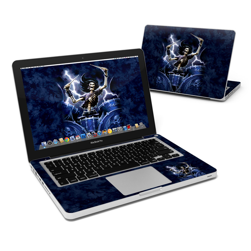 Death Drummer MacBook Pro 13-inch Skin