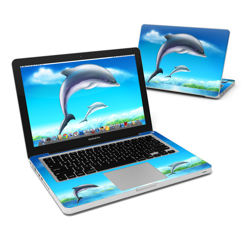 Dolphins MacBook Pro 13-inch Skin