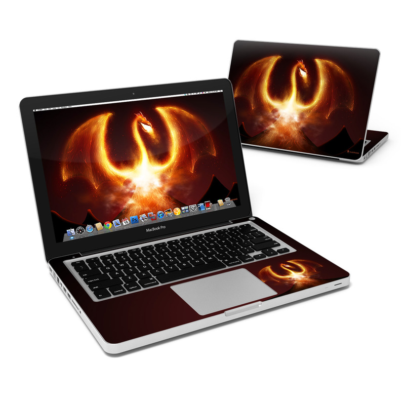 Fire Dragon MacBook Pro 13-inch Skin