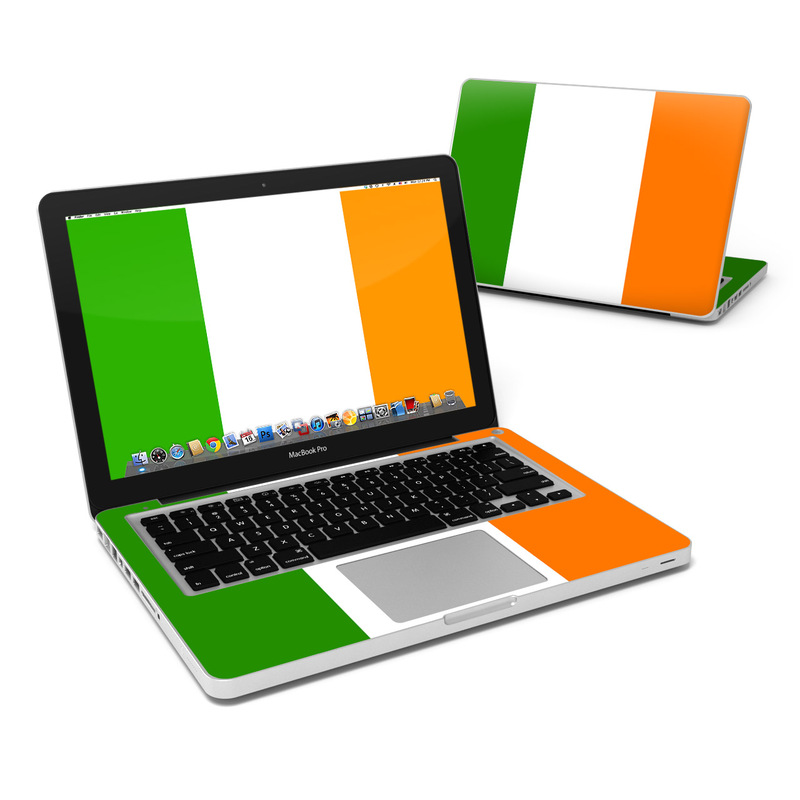 Irish Flag MacBook Pro 13-inch Skin