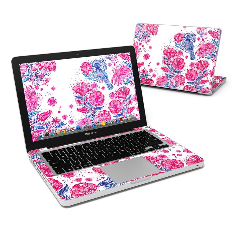 Freedom Flowers MacBook Pro Pre 2012 13-inch Skin