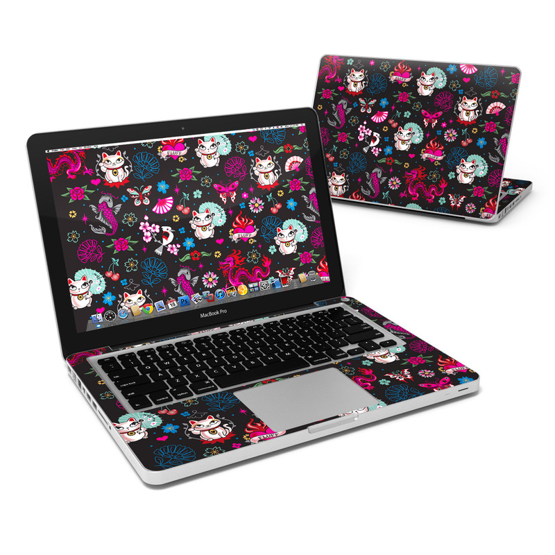 Geisha Kitty MacBook Pro 13-inch Skin