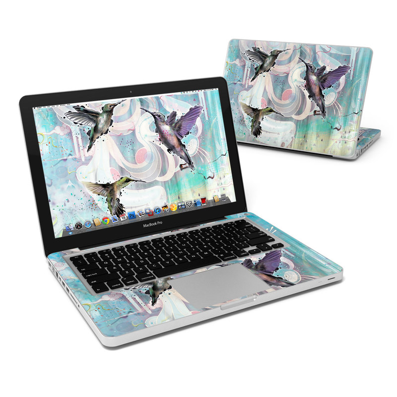 Hummingbirds MacBook Pro 13-inch Skin